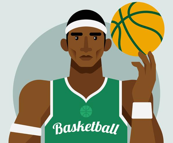 Basketbal Illustratie vector