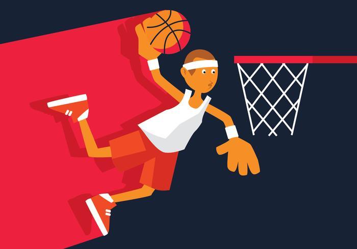 Illustrazione vettoriale di basket