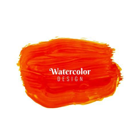 Abstracte rode het ontwerpachtergrond van de waterverfslag