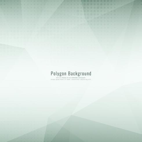 Abstrakter stilvoller polygonaler eleganter Hintergrund vektor