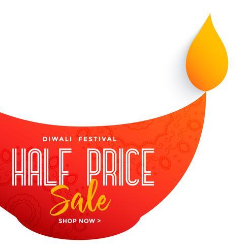 gran diseño de diya para la venta de festival de diwali