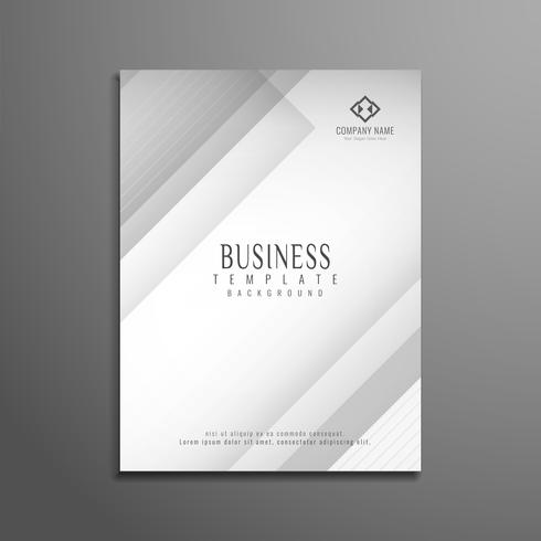 Abstract geometric business brochure template  vector