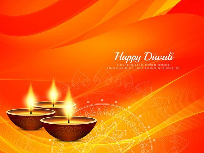 Abstracte godsdienstige Gelukkige Diwali-achtergrond