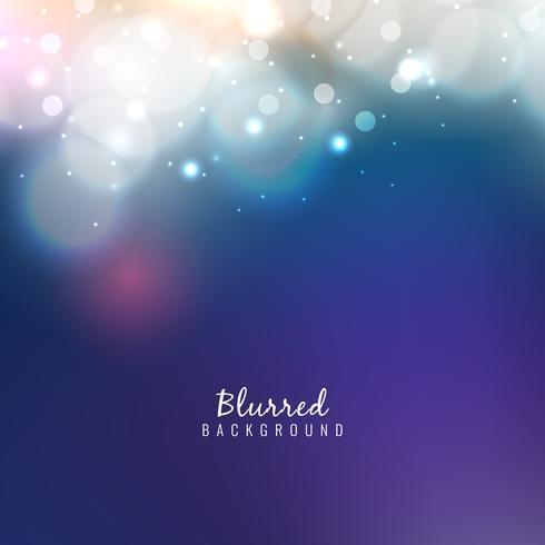 Abstrait brillant flou