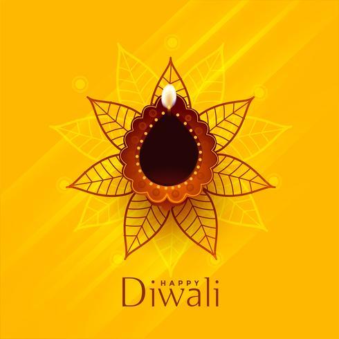 design de fond traditionnel créatif joyeux diwali