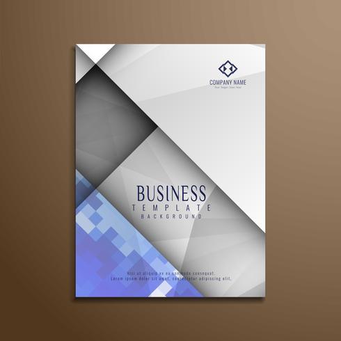Modèle de brochure d'entreprise polygonale abstraite