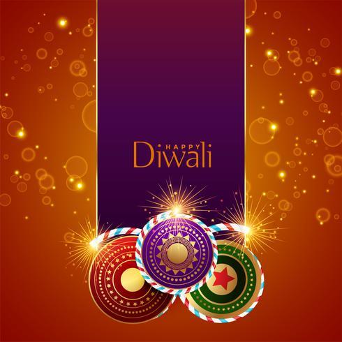 festival abstrait de diwali brille à fond avec des biscuits