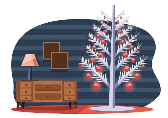 Árvore de Natal do meio do século