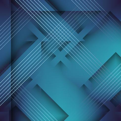 Abstrait élégant polygonale bleu