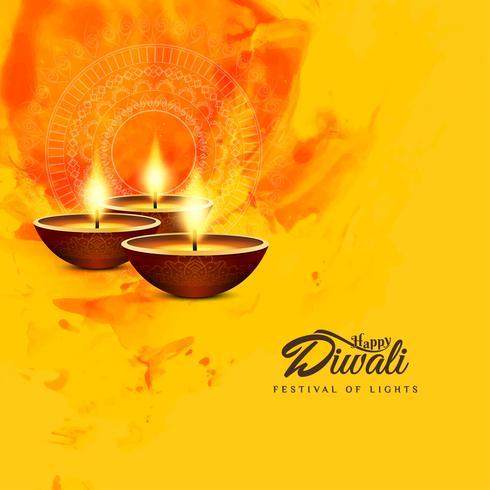 Abstrait religieux joyeux Diwali