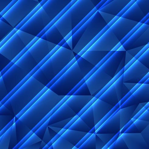 Abstrait géométrique bleu