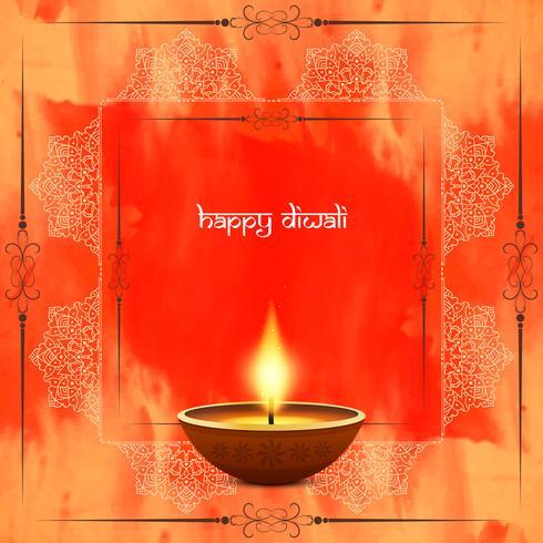 Fondo abstracto feliz diwali