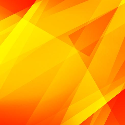 Fondo geométrico poligonal amarillo brillante moderno abstracto