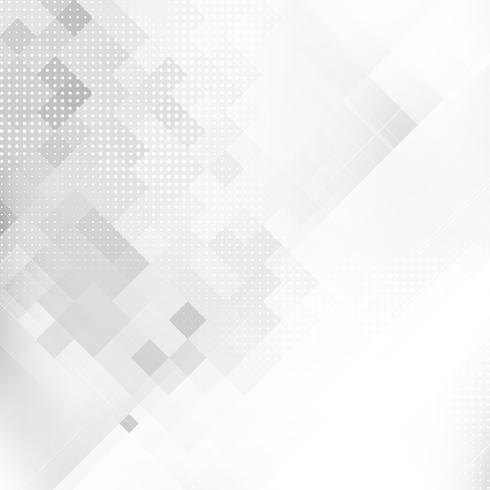 Fondo de polígono geométrico gris abstracto