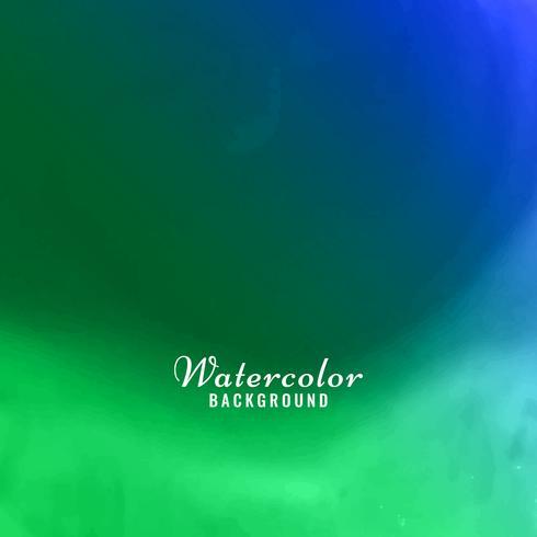 Abstrakter bunter Aquarellhintergrund vektor