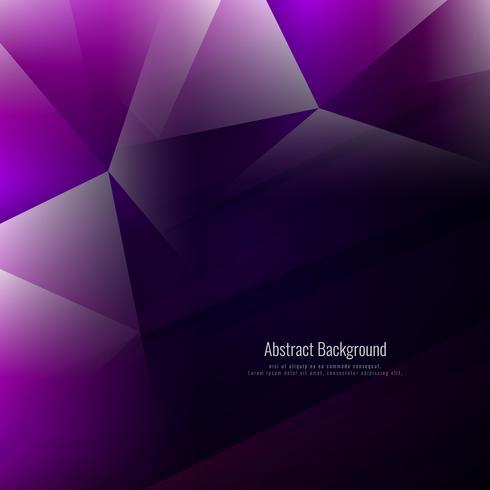 Fond abstrait polygone géométrique