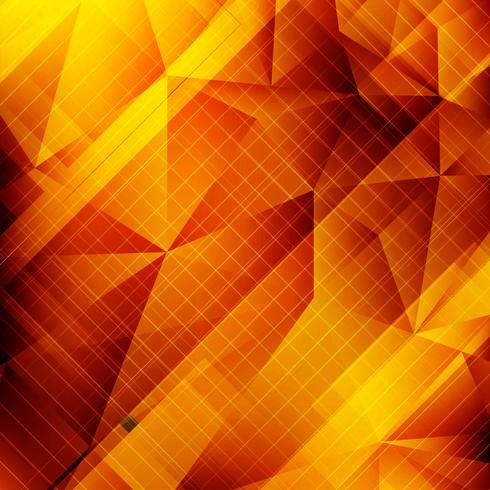 Abstrait polygone décoratif