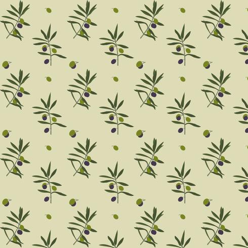 olivträdsmönster