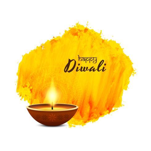 Abstrait religieux joyeux Diwali voeux fond