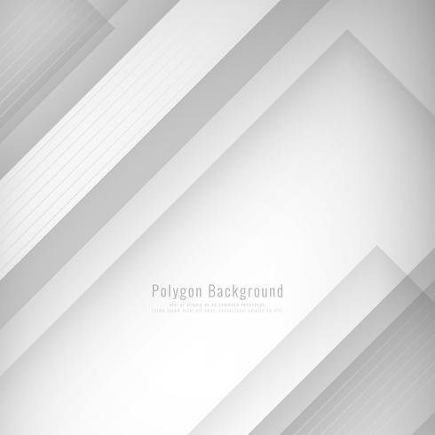 Fondo poligonal con estilo abstracto vector