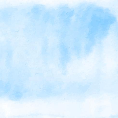 Abstrait bleu décoratif aquarelle