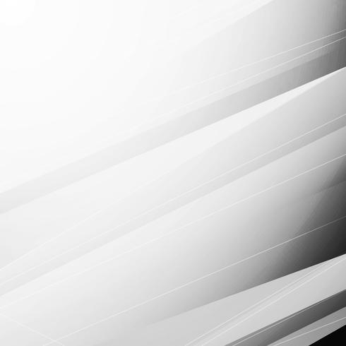 Fondo geometrico del poligono grigio astratto vettore