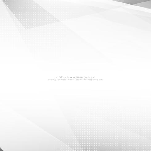 Fundo geométrico poligonal cinzento abstrato vetor
