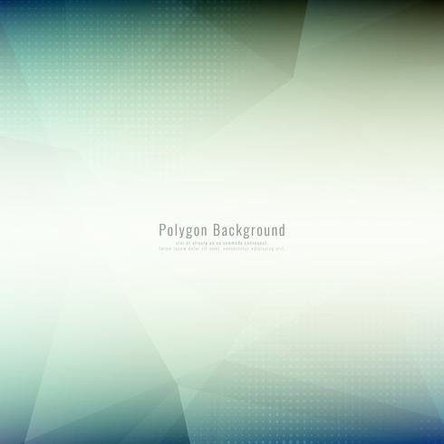 Abstrait élégant élégant polygonale