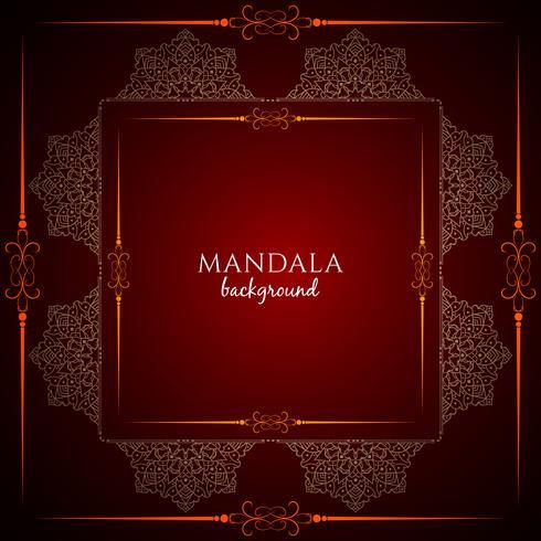 Fundo abstrato decorativo luxo mandala design