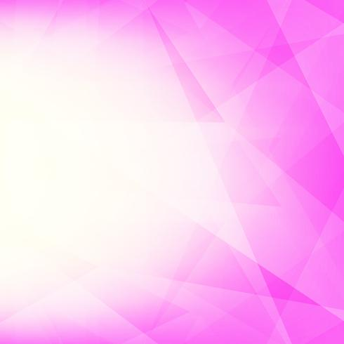 Abstrait moderne géométrique polygonale rose