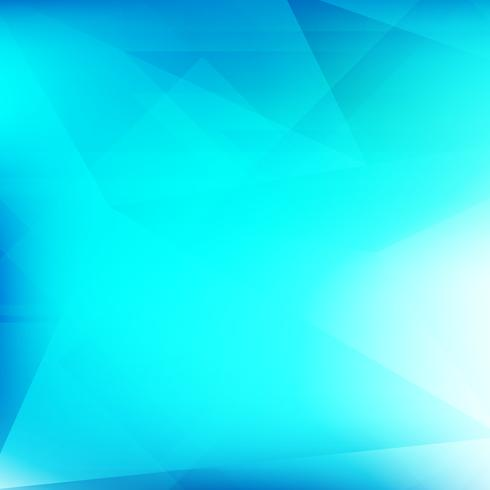 Abstrait bleu moderne géométrique polygonale