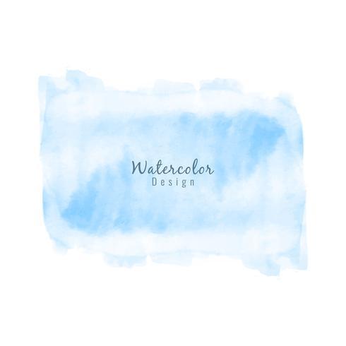 Abstrait bleu design aquarelle