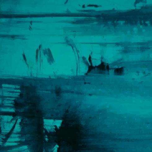 Abstrait décoratif bleu aquarelle