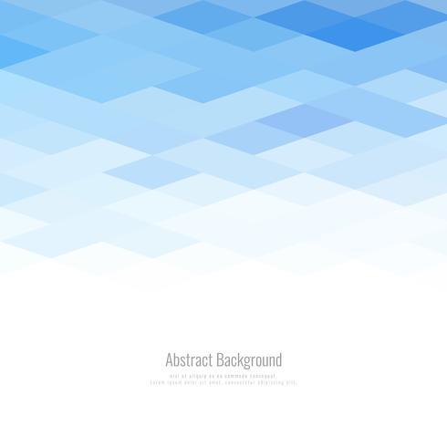 Abstrait moderne géométrique bleu polygonale