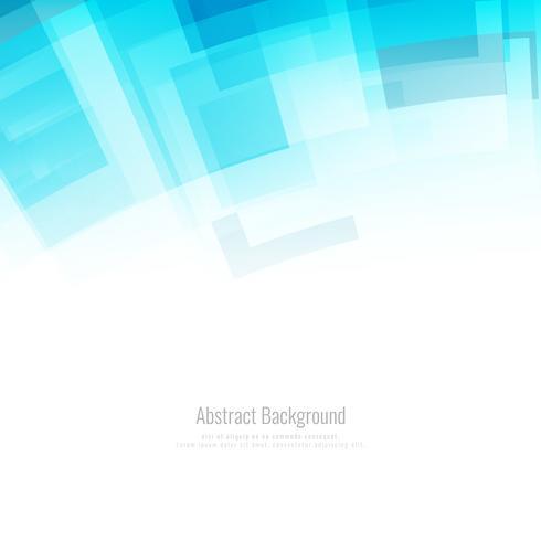 Abstrakter blauer polygonaler geometrischer Hintergrund