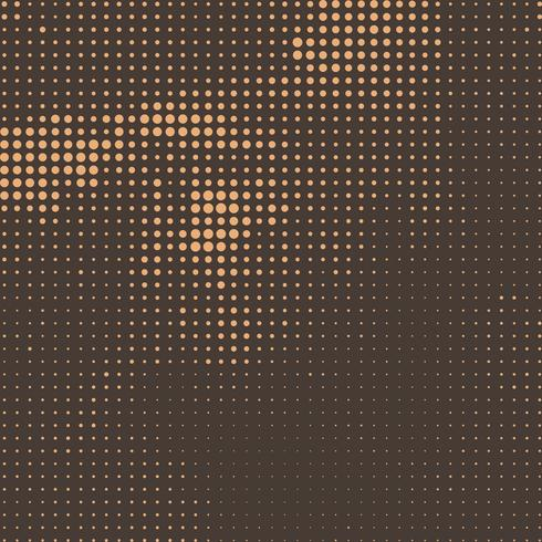 Fundo abstrato retrô de meio-tom