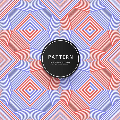 Fondo elegante colorido patrón geométrico