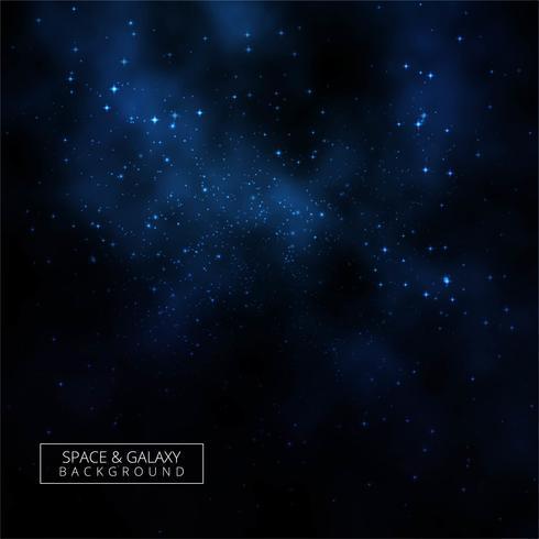Abstrakter glänzender dunkler Galaxiehintergrund