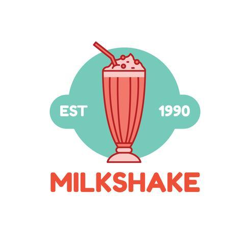 Diner-Milchshake-Logo