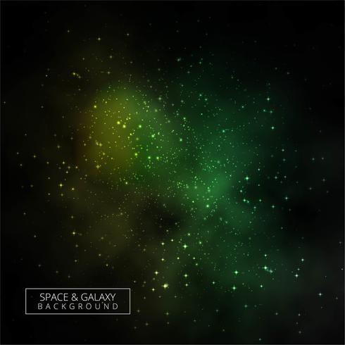 Vecteur de conception de fond de galaxie