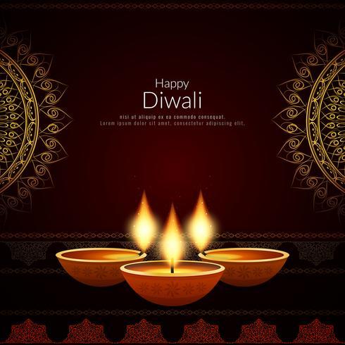 Priorità bassa felice astratta di festival di Diwali