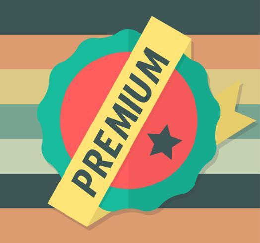 Etiqueta Premium vector