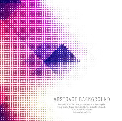 Abstrakter bunter kreativer Halbtonhintergrund