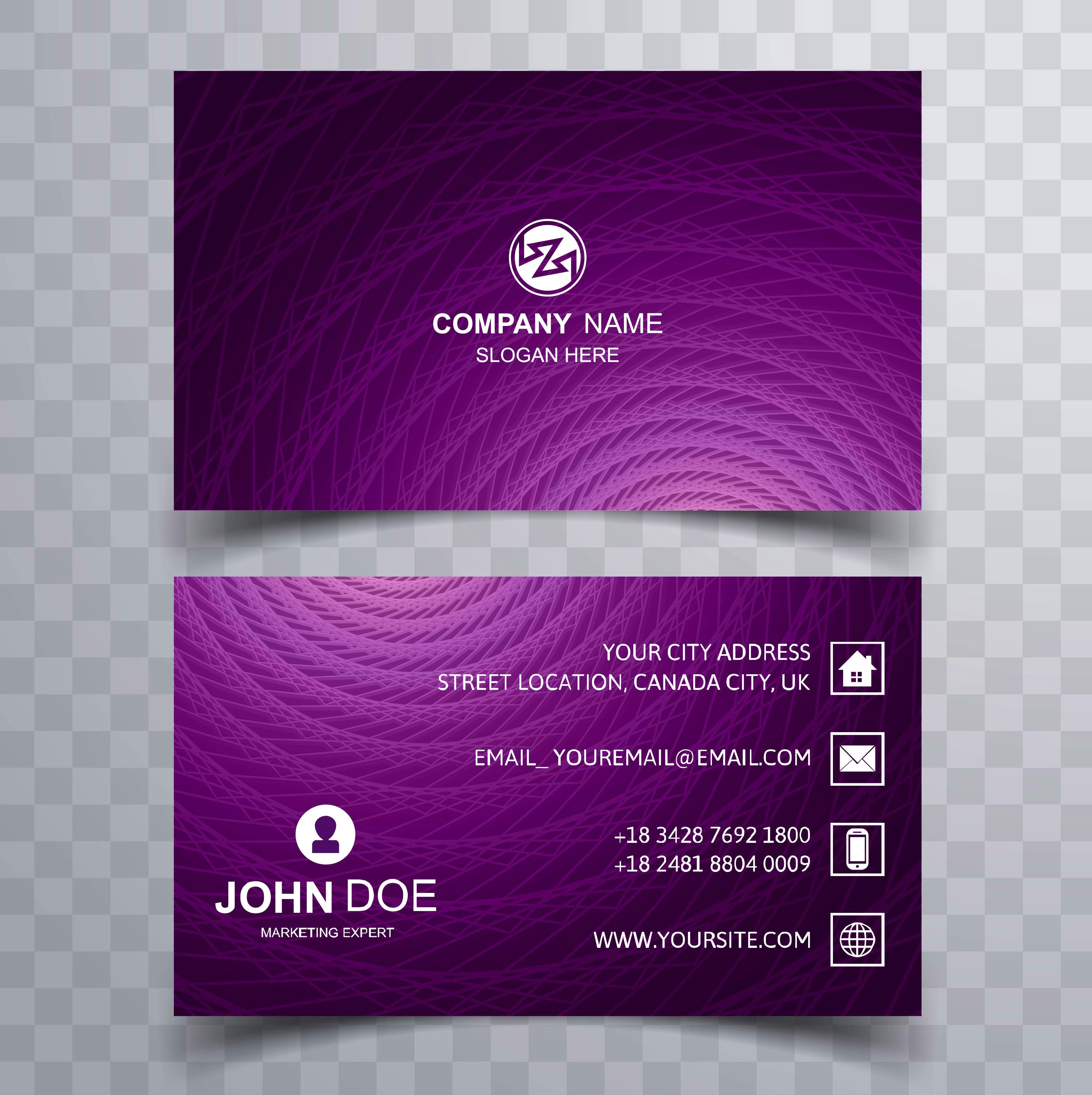 elegant business card background vector 256797 vector art