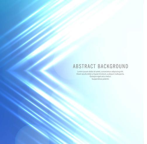 Abstrakte glänzende blaue Zeilen Hintergrund