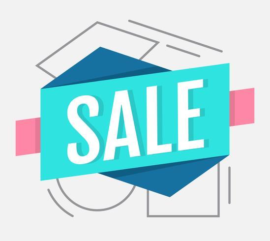 Verkauf Vorlage vektor