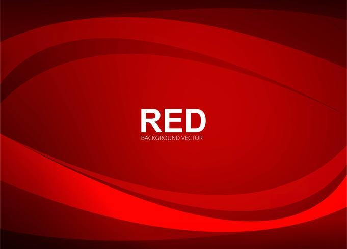 Abstracte rode golvende achtergrond illustratie