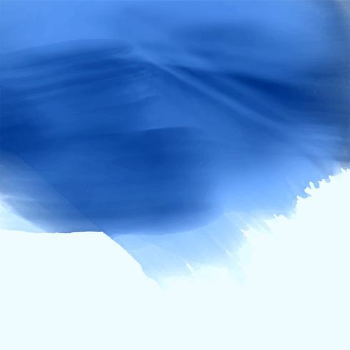 projeto de plano de fundo azul textura aquarela