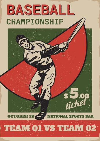 Flyer Concept de Baseball Park