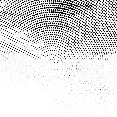 Elegant dotted halftone background illustration